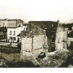 Zniszczenia Tomaszowa Maz. po bombardowaniach