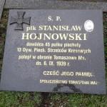 Nagrobek płk Stanisława Hojnowskiego