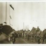 Wymarsz 2 dywizjonu 4 Pułku Artylerii Ciężkiej z Tomaszowa Maz. na front - koniec sierpnia 1939 roku