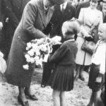 Powitanie Aleksandry Piłsudskiej w Tomaszowie Maz. (archiwum Szkoły Podstawowej Nr 3 im. Józefa Piłsudskiego w Tomaszowie Maz.)