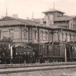 Na zdjęciu: Dworzec kolejowy w Tomaszowie na początku XX wieku. Zbiory Jerzego Pawlika
