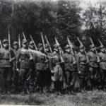 """Oddział Konspiracyjnego Wojska Polskiego """"ORKAN"""" - czerwiec 1946 (źródło: Archiwum IPN Łódź)"""