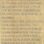 Ulotki kolportowane przez podziemie antykomunistyczne na terenie Tomaszowa Maz. (źródło: Archiwum IPN Łódź)