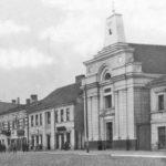 Na zdjęciu: Sklepy przy Placu Kościuszki w okresie międzywojennym. Archiwum Andrzeja Kobalczyka