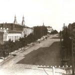 Rynsztoki z mostkami przy ul. Św. Antoniego w okresie międzywojennym. Archiwum Andrzeja Kobalczyka