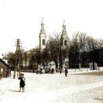 Na zdjęciu: Centrum Tomaszowa w latach 30. ubiegłego wieku. Zbiory Muzeum w Tomaszowie