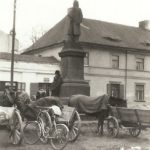 Na zdjęciu: Widok centrum Tomaszowa w latach 30. ubiegłego wieku. Zbiory Muzeum w Tomaszowie