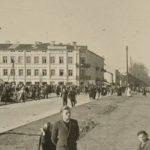 Na zdjęciu: Fragment Placu Kościuszki na zdjęciu z okresu II wojny światowej. Archiwum Mariana Fronczkowskiego