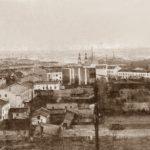 Na zdjęciu: Widok Tomaszowa z wieży kościoła ewangelickiego na zdjęciu z 1918 roku. Archiwum Andrzeja Kobalczyka