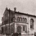 Na zdjęciu: Tomaszowska synagoga w okresie międzywojennym. Archiwum Andrzeja Kobalczyka