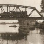 Na zdjęciu: Most kolejowy na Pilicy w Tomaszowie. Zdjęcie z 1937 roku. Archiwum Andrzeja Kobalczyka
