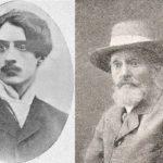 Na zdjęciu: Poeta Zygmunt Różycki (po lewej) i jego ojciec Jan Rola Różycki. Archiwum Andrzeja Kobalczyka