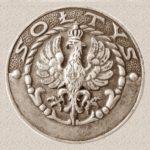 Na zdjęciu: Odznaka sołtysa w okresie międzywojennym. Foto: wikipedia