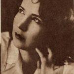 """Na zdjęciu: Natalia Giginajszwilli – Miss Tomaszowa z 1931 roku. Foto: """"Kino"""" z 9 maja 1932 roku"""