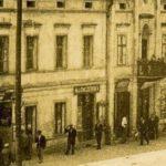 Na zdjęciu: Witryny przedwojennych sklepów w Tomaszowie. Archiwum Andrzeja Kobalczyka