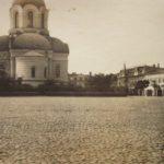 Na zdjęciu: Centrum Tomaszowa w latach I wojny światowej. Archiwum Andrzeja Kobalczyka