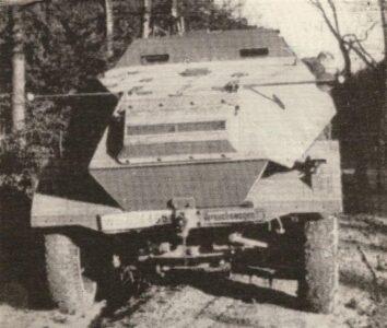 niemiecki pojazd opancerzony